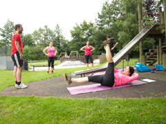 Group Fitness at Adastra Park